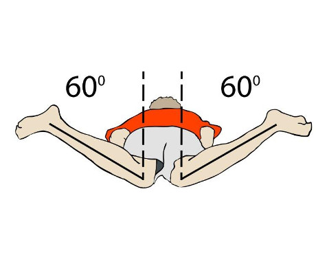 Hip Flexibility of 60 Degrees
